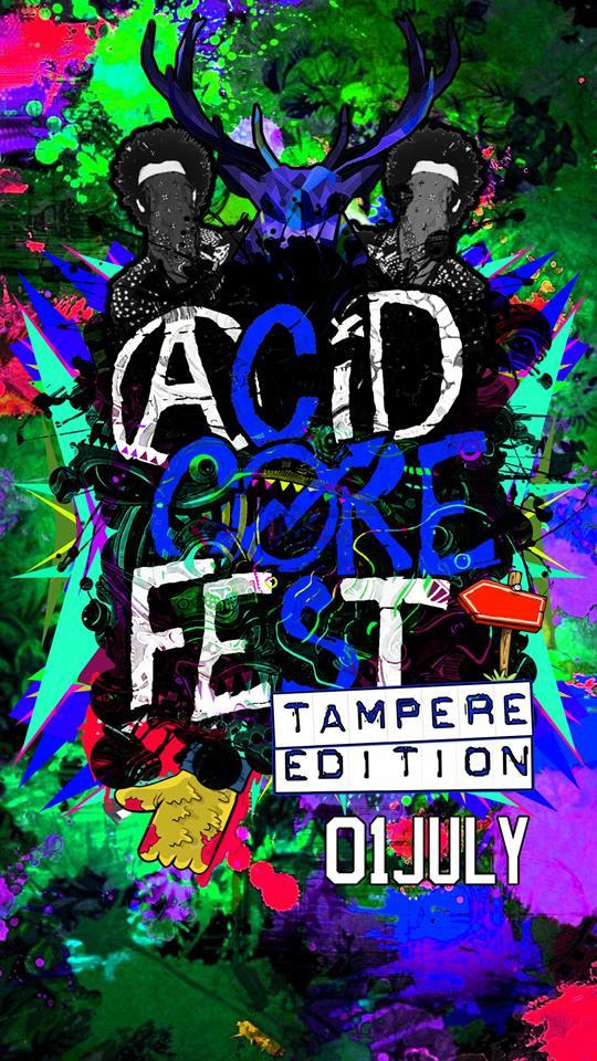 Acidcorefest.tampere.edition, 1.7.2017 @ UG / Tampere