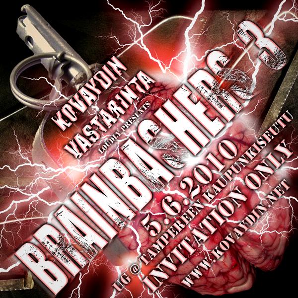 Brainbashers 3, 5.6.2010 @ Suur-Tampere