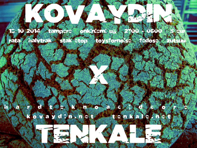 18.10.2014 Kovaydin X Tenkale @ Onkiniemi UG, Tampere (FI)